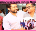 Suriya Gets Ready For His Next! Tamil News