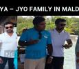Suriya – Jyo Family In Maldives!