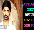 Atharvaa Gets A Release Date For His Next! Tamil News