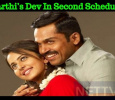 Karthi's Dev In Second Schedule! Tamil News