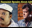 Thambi Ramaiah Speaks About Thala Ajith's Role In Viswasam! Tamil News
