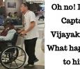 Shocking! Captain Vijayakanth In A Wheelchair? Tamil News