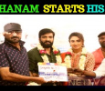 Santhanam Starts Shooting For His Next! Tamil News