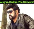 Balayya Orders The Director! Telugu News
