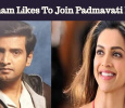 Santhanam Likes To Join Padmavati Heroine!