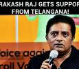 Prakash Raj Gets Support From Telangana!