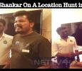 Director Shankar On A Location Hunt In Andhra!