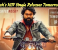Yash's KGF Single Releases Tomorrow!