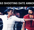 Thalapathy Vijay 63 Shooting Date Announced!