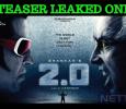 Superstar's 2.0 Teaser Leaked! Shankar And Team In Shock! Tamil News
