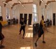 Shruti Learns Sword Fight! Tamil News