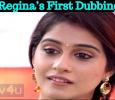 Regina's First Dubbing! Tamil News