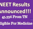 NEET Results Announced! Tamil News