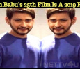 Mahesh Babu's 25th Film Is A 2019 Release!