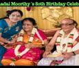 Venniraadai Moorthy Celebrated His 80th Birthday!
