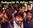 Vijay Sethupathi Appreciated Aditya Bhaskar! Tamil News