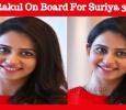 Rakul Preet Joins Suriya 36! Tamil News
