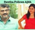 Serial Actress Swetha Follows Ajith's Footsteps! Tamil News