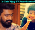 Is This Vijay TV Fame Rinson? Tamil News