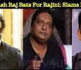 Prakash Raj Bats For Rajini; Slams Kamal! Tamil News