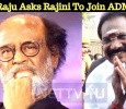 Sellur Raju Asks Rajini To Become An ADMK Votary??? Tamil News