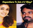 Nayanthara To Join A L Vijay? Tamil News