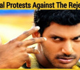 Vishal Protests Against The Rejection! Tamil News