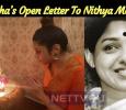 Namitha's Open Letter To Nithya Menen!