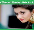 Priya Bhavani Shankar Gets An Award!