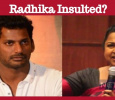 Radhika And Sarathkumar Insulted? Tamil News