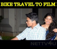 Sai Pallavi's Bike Travel With Her Assistant! Tamil News