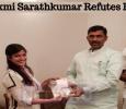 Varalaxmi Sarathkumar Refutes Rumors!