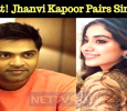 What! Jhanvi Kapoor Pairs Simbu? Tamil News
