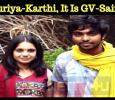After Suriya-Karthi, It Is GV-Saindhavi!