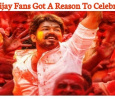Vijay Fans Got A Reason To Celebrate! Tamil News
