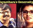 Vivek Apologizes! Nayanthara's Generosity! Tamil News