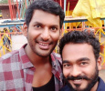 Sarath Kumar Joins Vishal! Tamil News