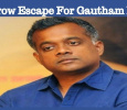 Gautham Menon Narrowly Escapes With Minor Injuries!