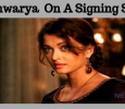 Aishwarya Rai On A Signing Spree!