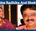 Not Only Radhika, Sarath And SVe Sheker, But They Are Also Avoided! Tamil News