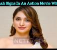 Tamannah Signs In An Action Movie With Sundar C! Tamil News