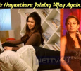 Is Nayanthara Joining Vijay Again? Tamil News