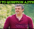 I Will Ask This To Thala One Day – Popular VJ