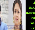 Jyothika Is An Inspiration To The Women – Vivek