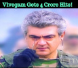 Vivegam Gets 4 Crore Hits! Tamil News