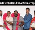 Viswasam Distributors Honor Siva And Thyagarajan For Super Hit Success!