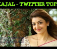 Kajal Aggarwal Is The Topper In Twitter! Tamil News