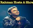 A R Rahman Becomes A Show Host!