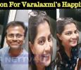 Reason For Varalaxmi's Happiness! Tamil News