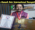 Babu Ganesh Gets International Recognition! Tamil News